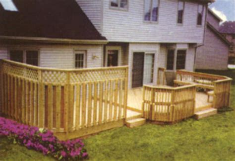 menards deck building plans privacy deck building plans only at menards 174