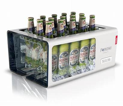 Peroni Display Ice Tank Pos Point Shelf