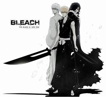 Bleach Ichigo Zanpakutou Hollow Kurosaki Verdadeira Forma