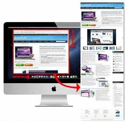 Capture Scrolling Windows Window Screen Ondesoft Mac