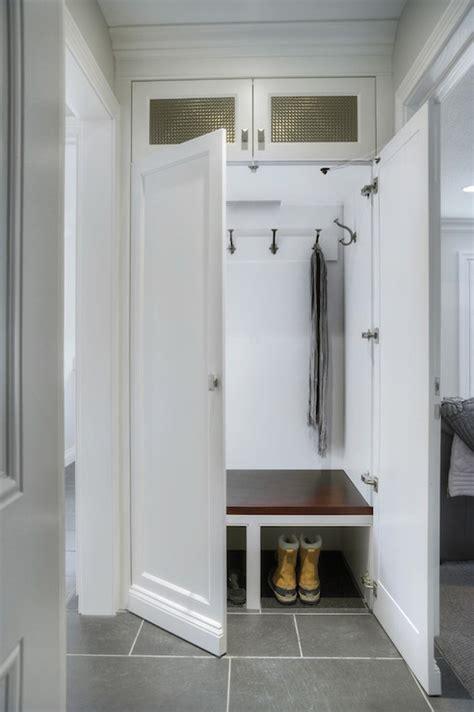 mudroom transitional laundry room braams