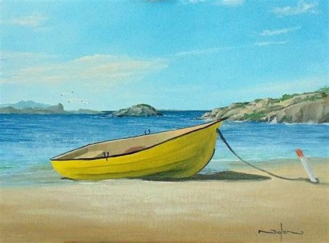 Boat On Beach Drawing by How To Paint A Boat On The Beach Share Today S Craft And