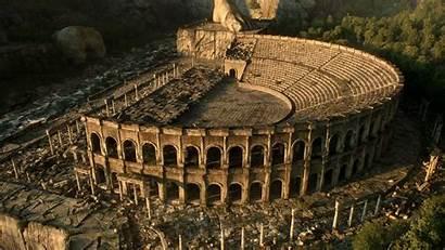 Ancient Greece Ruins Wallpapers Greek Wallpapersafari Background