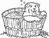 Coloring Bath Dog Tub Bathtub Clipart Pages Dogs Drawing Printable Colouring Print Webstockreview Animals Coloringpages101 Getdrawings sketch template