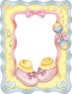 Baby Girl Clip Art Borders and Frames
