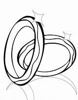 Coloring Rings sketch template