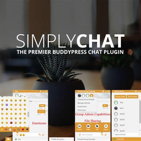 Buddypress Plugins Simplychat For Buddypress Plugin Wpexplorer