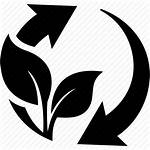 Friendly Eco Icon Cycle Environmental Science Botanical