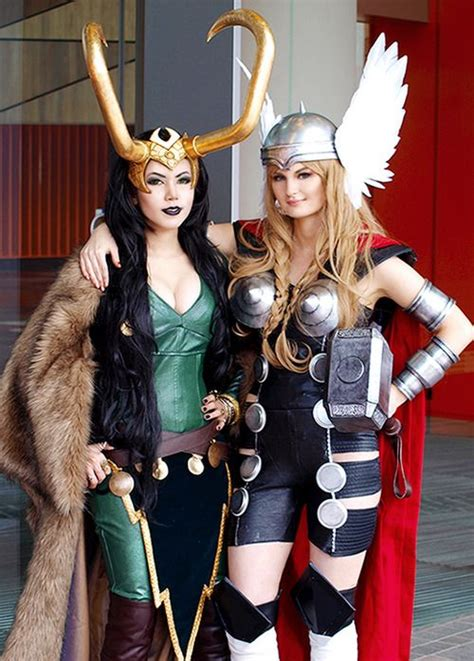 Lady Thor And Lady Loki 2 Fun Store