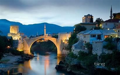 Bing Wallpapers Daily Bridge Mostar Bosnia Herzegovina