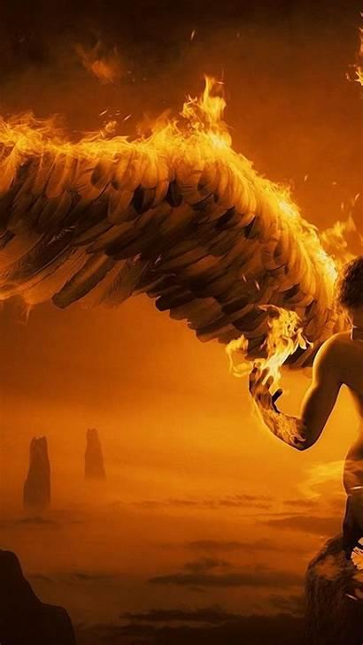 Wings Fire Angel Resolution 4k Published June