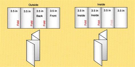 fold brochure template csoforuminfo