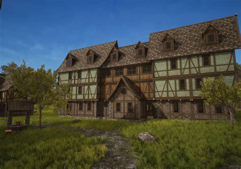 Medieval Town   CGTrader