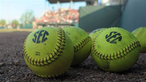 february  sec softball schedule game times tv coverage