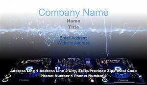 Dj business card templates juicybc blog for Dj business cards backgrounds
