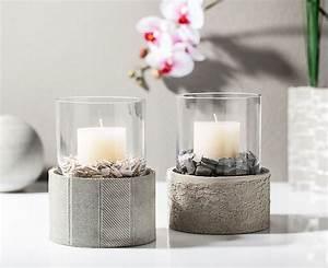 Gießformen Beton Garten : kreativ tipp windlicht aus kreativ beton basteln ~ Markanthonyermac.com Haus und Dekorationen