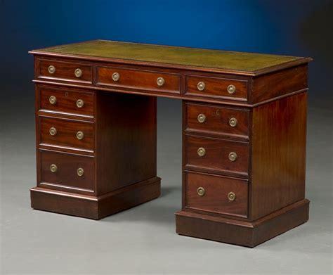 Esl Desk by Antique Pedestal Desk