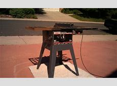 Sears Craftsman 10 inch Direct Drive Table Saw used eBay