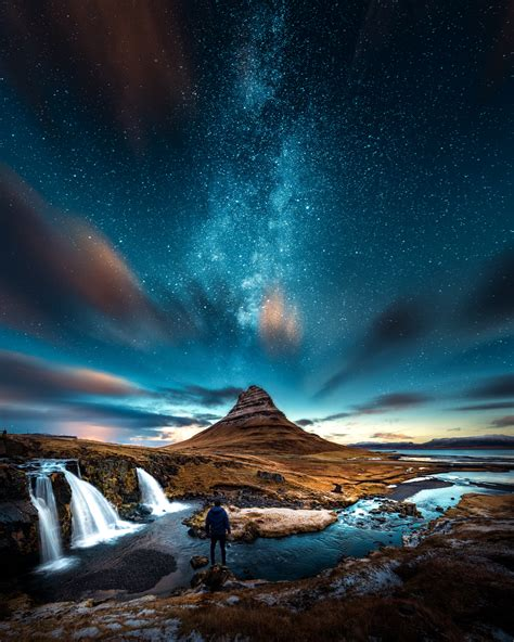 Free Images Magical Iceland Milky Way Nature Sky