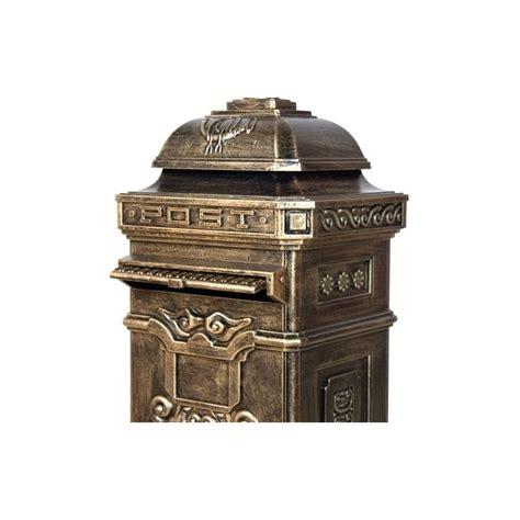 magasins ustensiles cuisine boite aux lettres pilier colonne en fonte 105cm