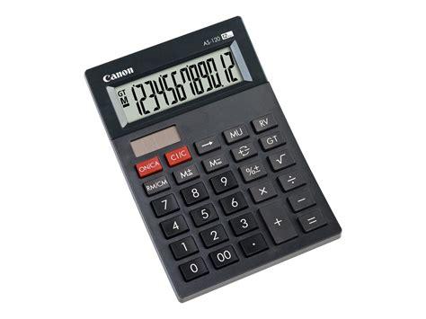 calculatrice bureau canon as 120 calculatrice de bureau calculatrices de
