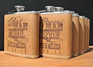 Rad wedding gifts for groomsmen best man engraved flasks for Best man wedding gifts