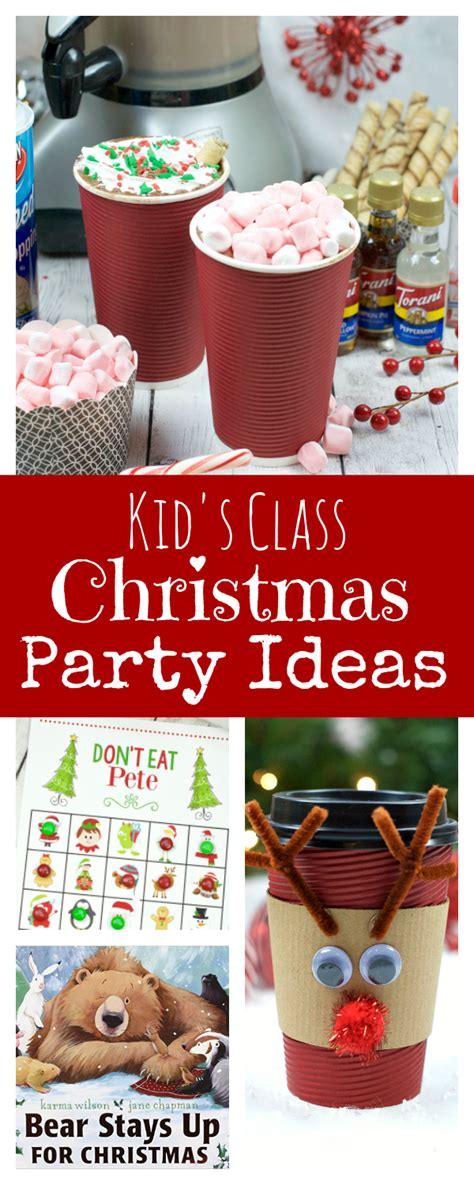 christmas class party ideas kid s school ideas squared