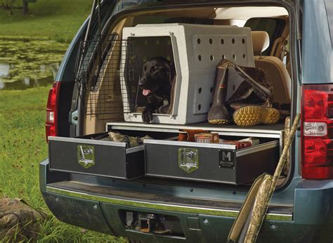 suv hunting truck camping storage gun drawer drawers organizers pickup trucks hunters guns gear firearms