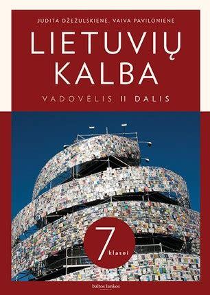 Lietuvių kalba 7 klasei 2 dalis   Knygos.lt