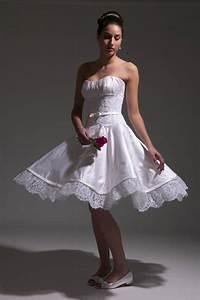 informal embroidered short wedding dress sang maestro With short informal wedding dresses