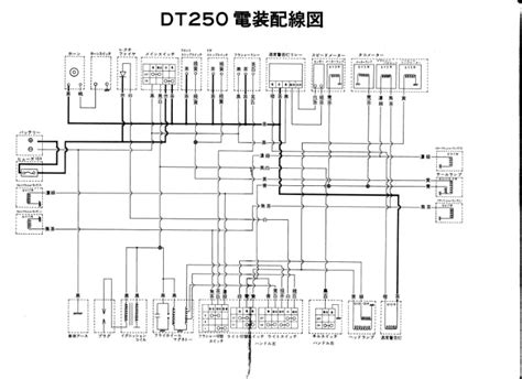 Yamaha Dt3 250 Wiring Diagram by Need Spec 1974 Dt250 Wiring Diagram Vintage Enduro