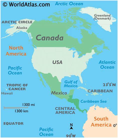 canada map map  canada worldatlascom