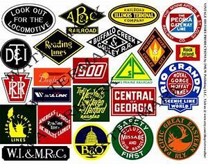 Railroad Stickers Train Logo Clip Art Railroad Heralds
