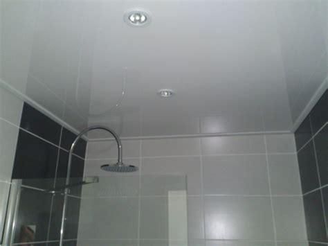 plaque pvc plafond salle de bain isolation id 233 es