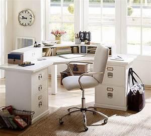 Home Office : 20 ways to decorate home office in white ~ Watch28wear.com Haus und Dekorationen