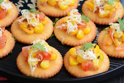 canapes recipes image of biscuit canapes my india