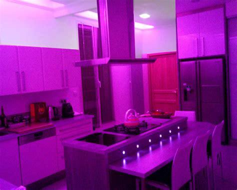 les decoration de cuisine deco led eclairage idées déco pour les cuisines