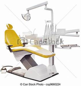 Drawing of Dentist Chair - Modern Detist Chair Isolated ...
