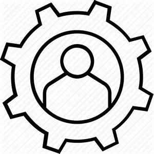Abilities, cog, efficiency, personal development, skill icon