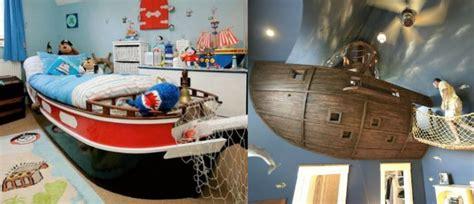 chambre bateau pirate déco chambre thème pirate