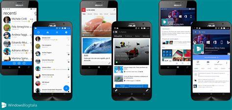 Confronto Mobile by App Android Vs Windows 10 Mobile Pi 249 App 232 Meglio