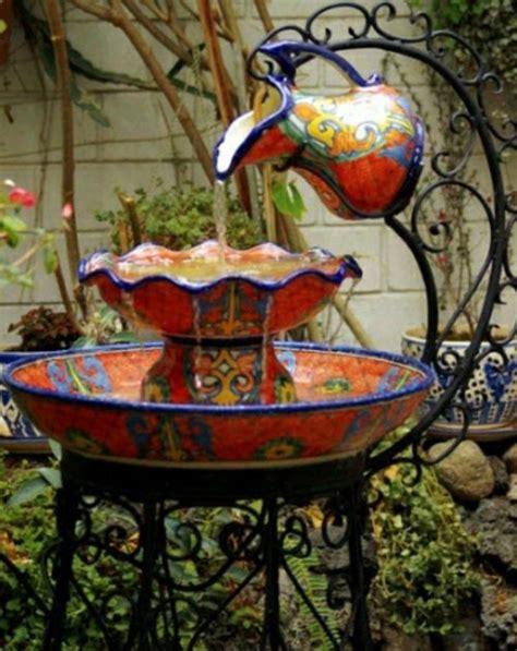 gartendekoration selber machen garten dekoration selber machen deko gartenbrunnen porzellan
