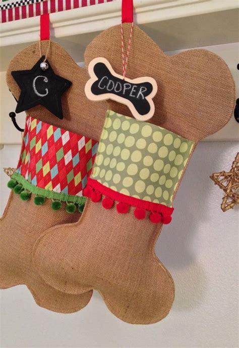 pet christmas stocking festive dog bone  soopertramp