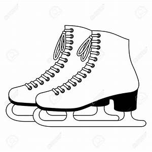 Pair of Ice Skates Clipart (34+)