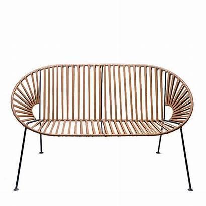Rust Leather Sofa Textured Powder Galvanized Steel