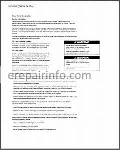 Honda Rubicon Trx500fa  Fga  Service Manual Atv