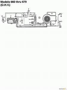 Mtd Lawn Tractors K 675 F 134k675f678  1994  Wiring Diagram For O H V  Spareparts