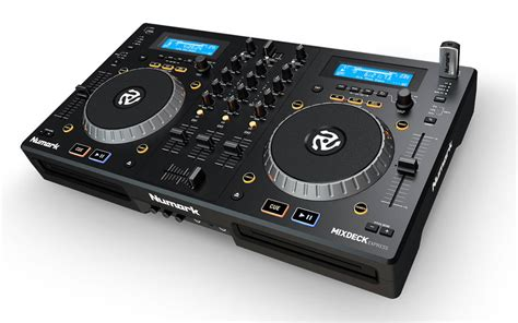 Numark Mixdeck Express Dual Cd Player And Mixer Black
