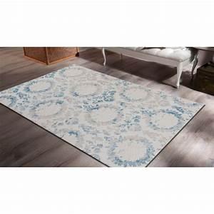 tapis bleu pas cher idees de decoration interieure With tapis pas chers