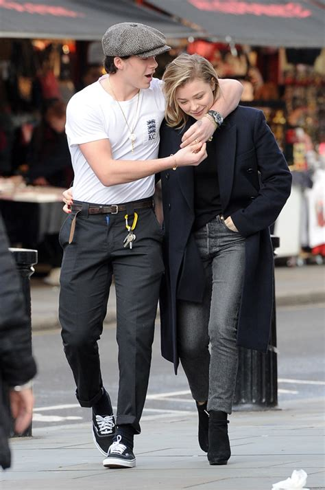Brooklyn Beckham Y Chloë Moretz, Lección De Estilo A La